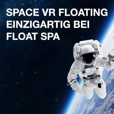 Space VR Floating. The Overview Effect.